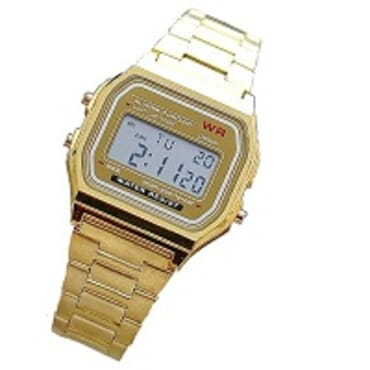 NEW RELIGION DIGITAL CHAIN WRIST WATCH