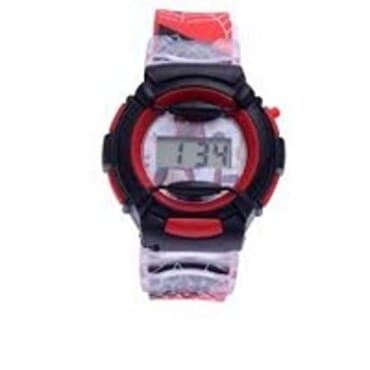 KID CARTOON WATCH WITH DIFFERENT COLORS
