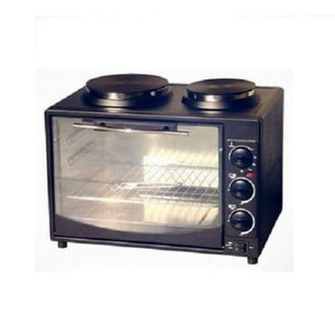 Eurosonic Oven With Integrated Cooking Hot Plate - 32Litres