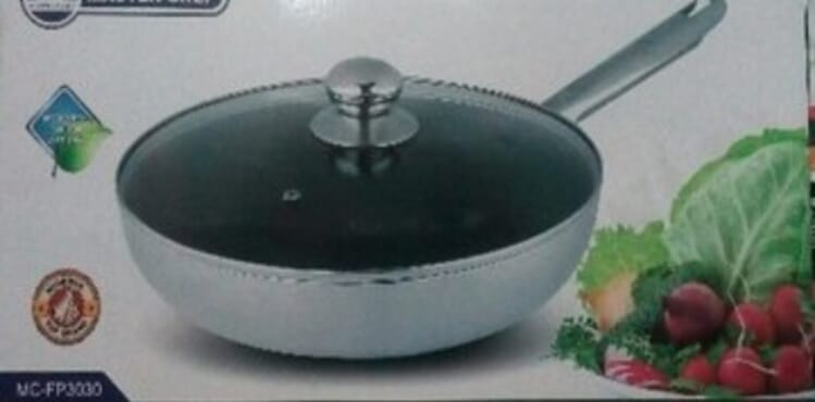 30cm frying pan with cover