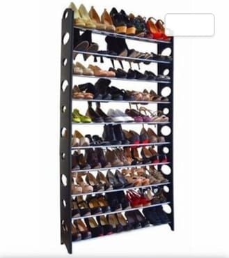 10 layer shoe racks
