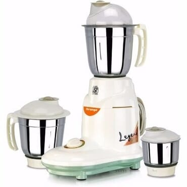 Orange prime 550 W Mixer Grinder - Multicolor - 3 Jars