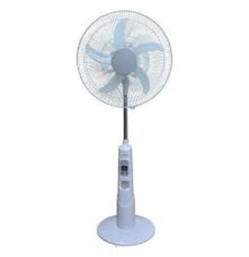 Lontor 18 Inches 5 Blade Rechargeable Fan With Remote Control And LED Light