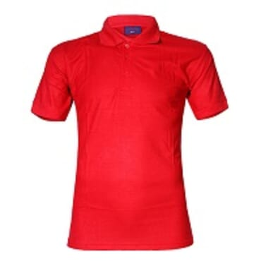 VICTAN STANDARD POLO SHIRT- RED- M-L