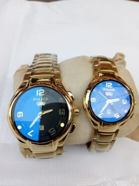 Police Couple Wrist watch(Men & Women)