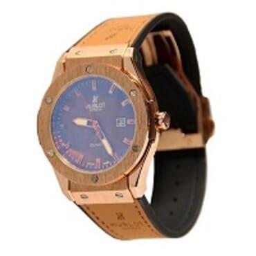 Hublot Gevene Men leather Wrist watch