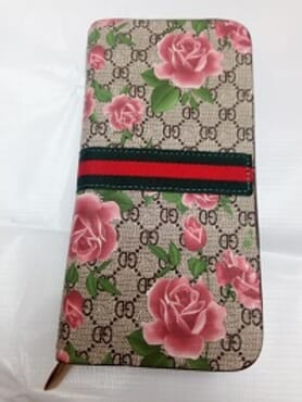 Gucci Design Flower wallet-Unisex