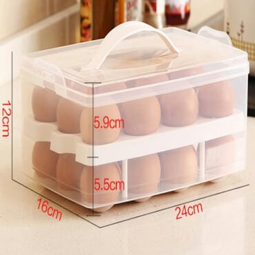 EGG STORAGE BOX -24 PIECES