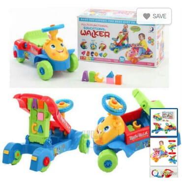 Multi-Functional Educational walker