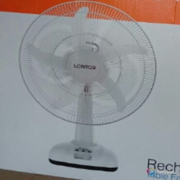 Lontor Rechargeable Table Fan 18inch