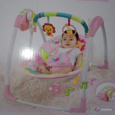Deluxe portable swing