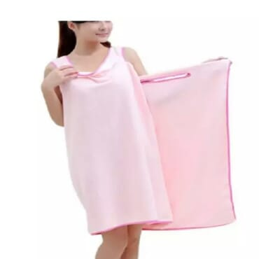 Women's Microfiber Fabric Bath Towel