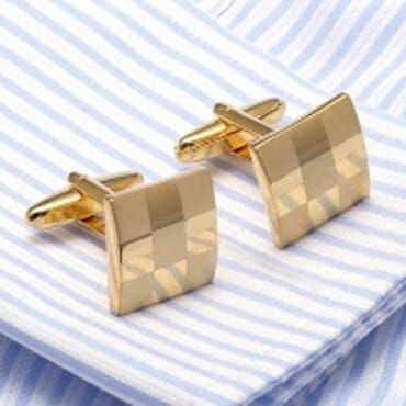 Gemelos French Gold Cufflinks