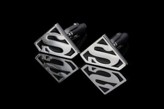 C-MAN Superman Cuff Links