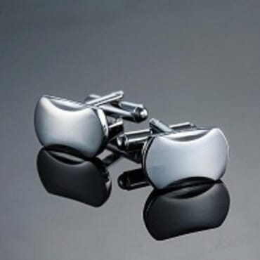 C-MAN Stainless Cuff Links