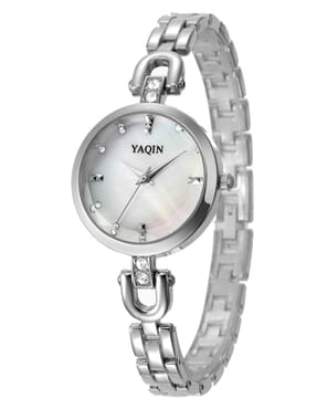 Yaqin Q7225 Fashion Alloy Watch - Silver
