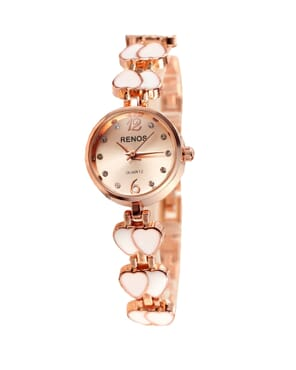 Renos Special Outing Waterproof Bracelet Watch - Rose Gold