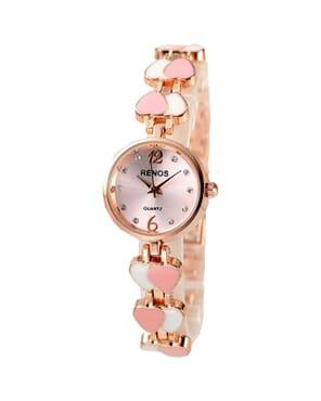 Renos Special Outing Waterproof Bracelet Watch - PinkRenos Special Outing Waterproof Bracelet Watch - Pink