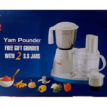 Yam Pounder Food Processor & Grinder (vtcl)