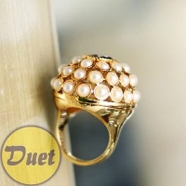 BRAZILIAN GOLD FASHION RING---SIZES 7/8/9/10