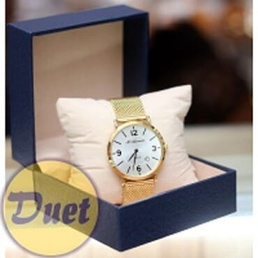 BOX St ALEXANDER SA139 GOLD CHAIN WATCH