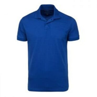 PLAIN TORTISE BLUE POLO T-SHIRT S--XL