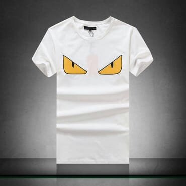 Fendi Round Neck T-Shirt