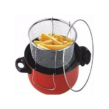 Manual Deep Fryer - Non Stick And 3-in-1