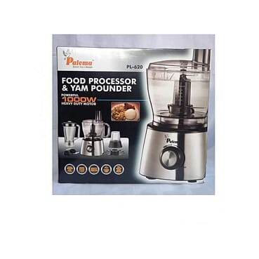 Paloma White Food Processor And Yam Pounder 1000 watts