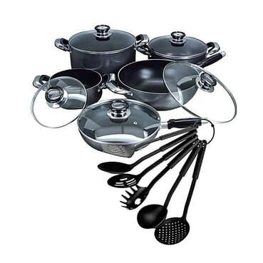 G and L 16 Piece Non Stick Executive Cookware Set