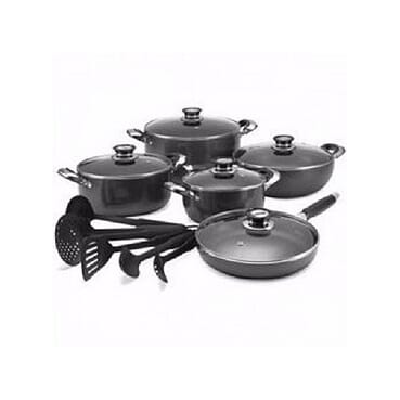 16pcs Non Stick Complete Cookware Set