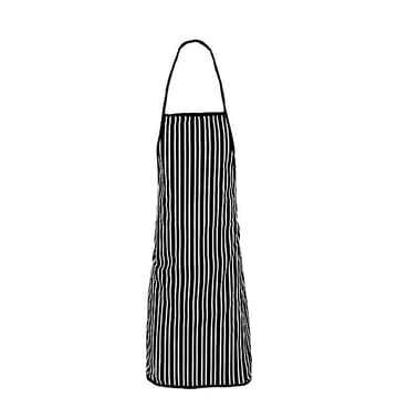 Lined Apron With Cap - Multicolored
