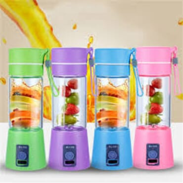 Portable USB Rechargeable Blender Juicer