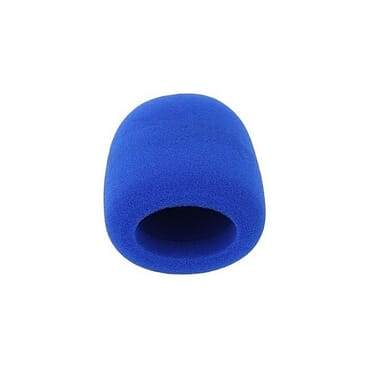 Microphone Cover Foam - Blue