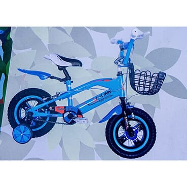 Rugged/Strong Alloy Rims/spooks Children Blue Color Bicycle (12 Inches 2-7yrs)