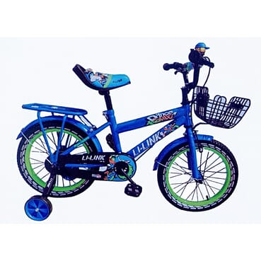 Rugged Baby Cycle / Kid Bike / Children Blue Bicycle (16 Inches 6-14yrs)