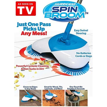 Hurricane Super Active Spin Broom