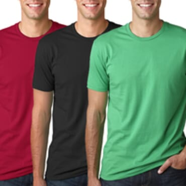Men's Pack Of 3 BYC Fitted Colored Fashion T Shirt