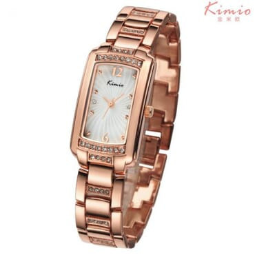 Kimio KW558 Rose Gold Ladies Watches