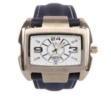 Promado B3043 18K GOLD Leather White Face Watches - White