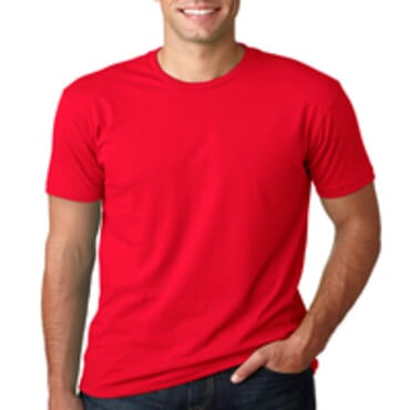 BYC Fitted Color Fashion T Shirt Red M-XL