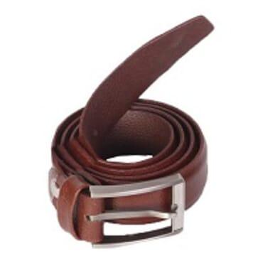 Royal Men's Leather Belt - Brown Size 34 -38