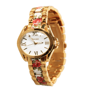 Soons White Flower Ladies Watch