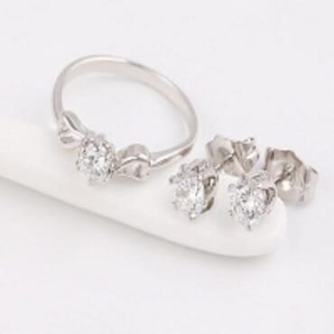 EARRING & RING SET 63625