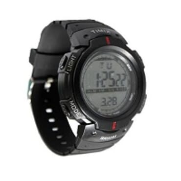 TIMIX BLACK SILICONE STRAP UNISEX WRIST WATCH