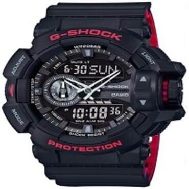 G-shock Dual Display Wrist Watch Black