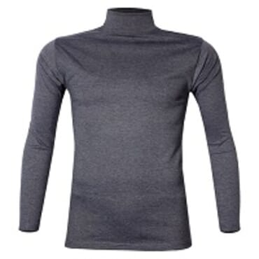 ROYAL GREY TURTLE NECK T-SHIRT S-XL