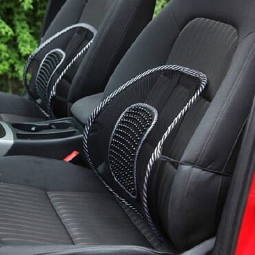 Car Seat And Office Chair Mesh Cushion Lumbar Back Support