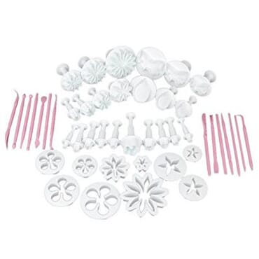 Flower Sugarcraft Decorating Tools - 47 Pieces (Multicolor)