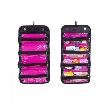 Roll 'n' Go Cosmetics Bag Organizer - Black